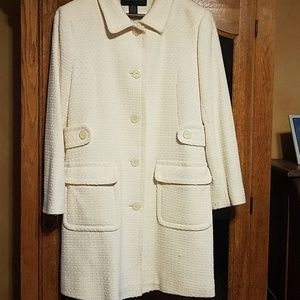 Victoria Secret white coat